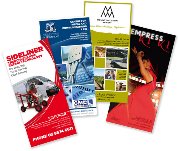 Examples of flyers that we can print in any size.: overnight-printers.eu/document-printing/flyer-printing